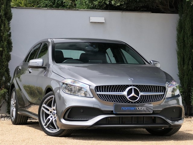 used Mercedes A180d AMG Line 7G-DCT