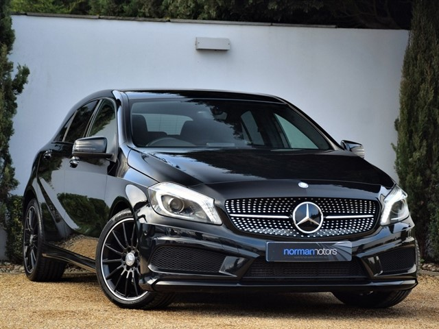 used Mercedes A200 CDI AMG NIGHT EDITION
