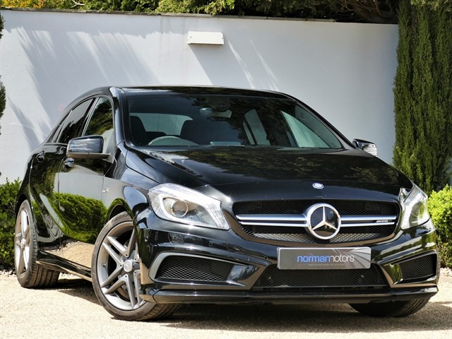 used Mercedes A45 AMG 7G-DCT 4MATIC