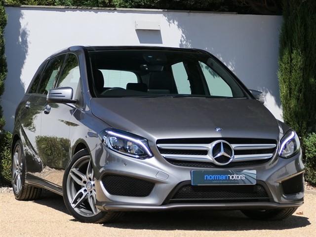 used Mercedes B180 d AMG Line (Premium Plus)