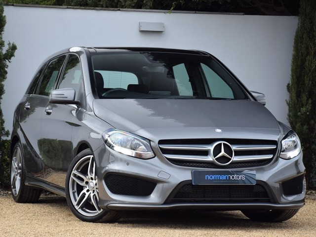 used Mercedes B220 D AMG LINE EXECUTIVE
