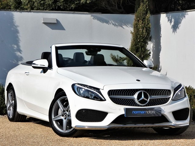 used Mercedes C200 C-CLASS AMG LINE