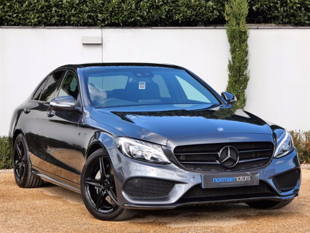 used Mercedes C220 BLUETEC AMG LINE