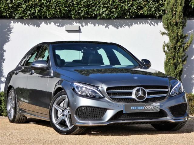 used Mercedes C250 D AMG LINE