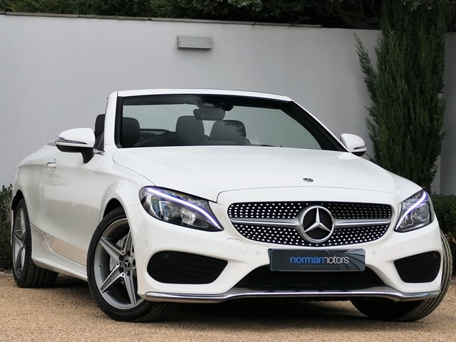 used Mercedes C200 AMG LINE