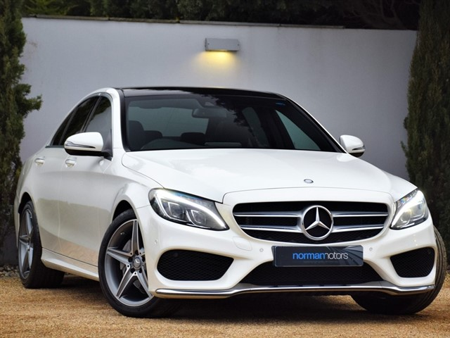 used Mercedes C200 AMG LINE PREMIUM PLUS
