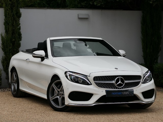 used Mercedes C220 C Class 2.1 C220d AMG Line Cabriolet G-Tronic+