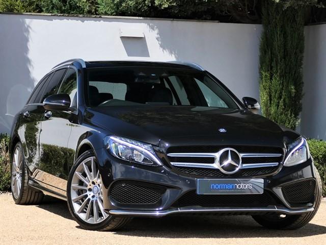 used Mercedes C220 D AMG LINE PREMIUM