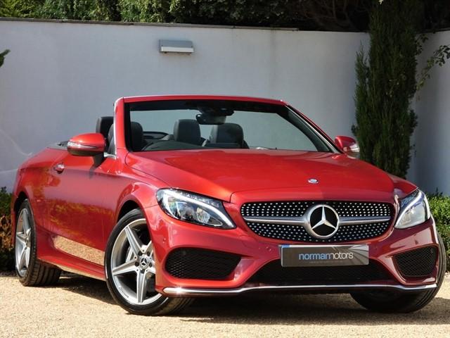 used Mercedes C250 D AMG LINE PREMIUM PLUS CABRIOLET