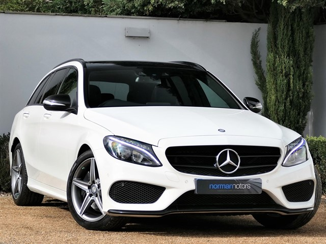used Mercedes C250 BLUETEC AMG LINE PREMIUM