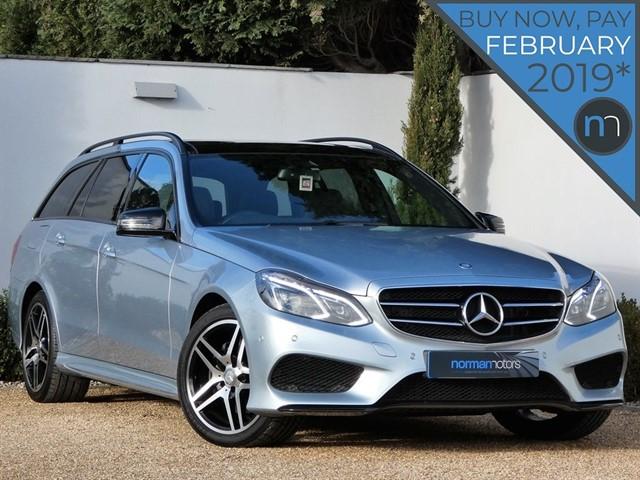 used Mercedes E220 BLUETEC AMG NIGHT EDITION PREMIUM