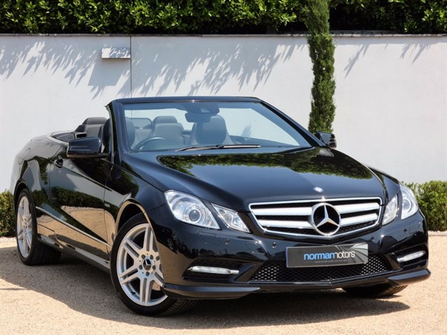 used Mercedes E250 CDI BLUEEFFICIENCY SPORT ED125