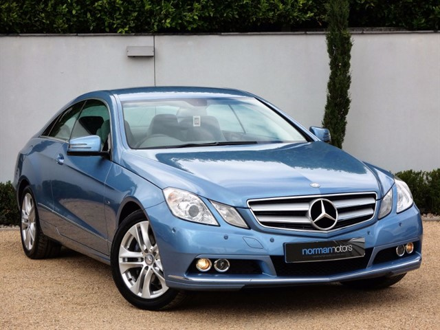 used Mercedes E250 CDI BLUEEFFICIENCY SE