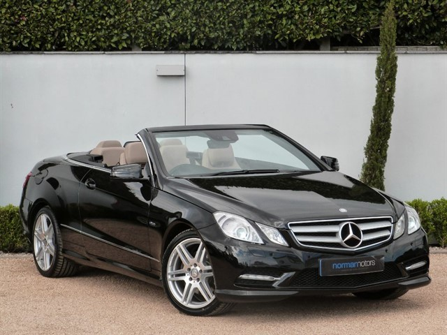 used Mercedes E350 CDI BLUEEFFICIENCY SPORT