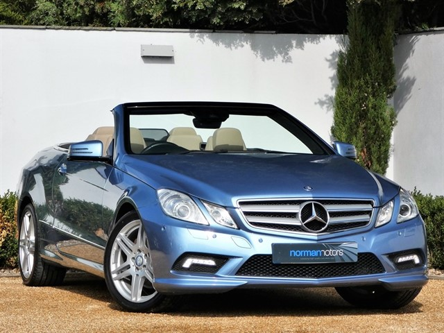 used Mercedes E200 CGI BLUEEFFICIENCY SPORT