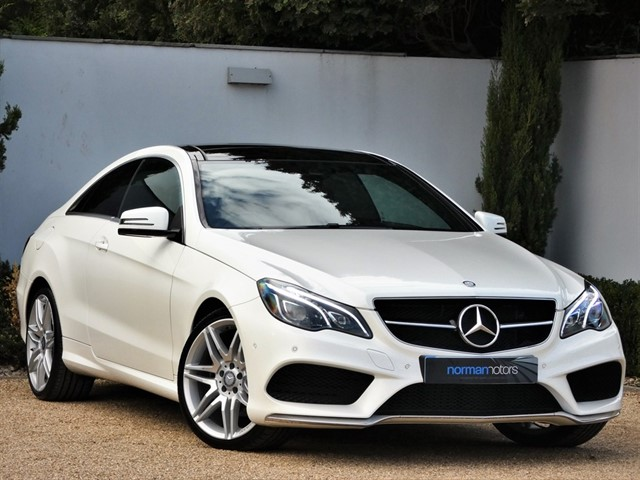 used Mercedes E200 AMG LINE EDITION