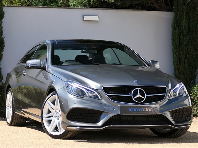 used Mercedes E220 D AMG LINE EDITION