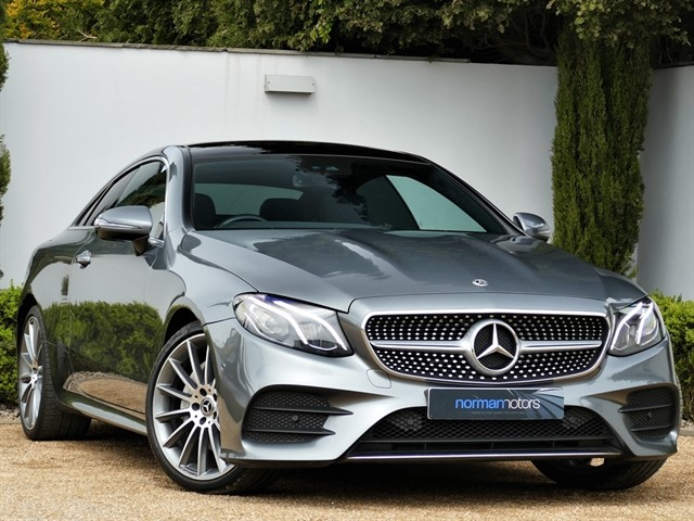used Mercedes E220 D AMG LINE PREMIUM