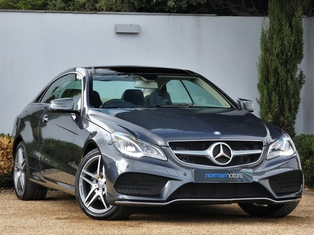 used Mercedes E350 BLUETEC AMG LINE