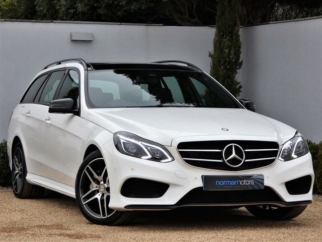 used Mercedes E350 BLUETEC AMG NIGHT ED PREMIUM PLUS