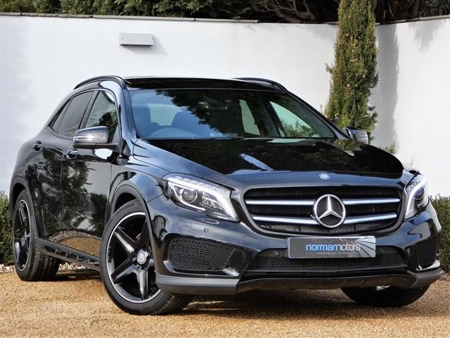 used Mercedes GLA220 CDI 4MATIC AMG LINE PREMIUM PLUS