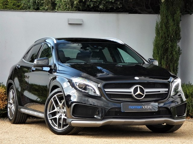 used Mercedes GLA45 AMG 4MATIC PREMIUM