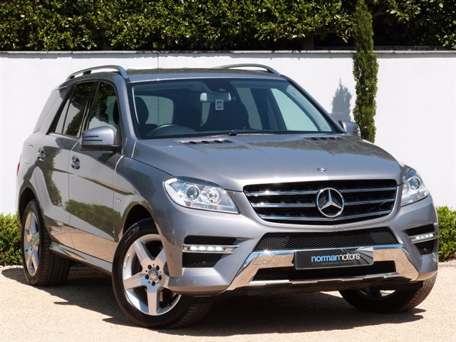 used Mercedes ML350 BLUETEC SPORT