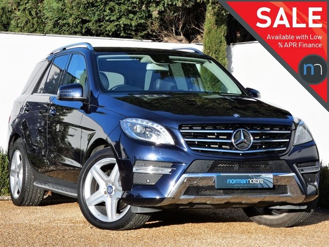 used Mercedes ML350 BLUETEC AMG LINE