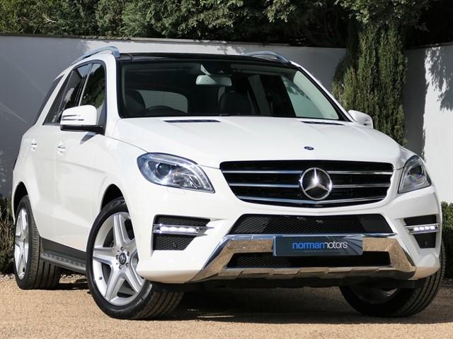 used Mercedes ML250 BLUETEC AMG LINE PREMIUM PLUS