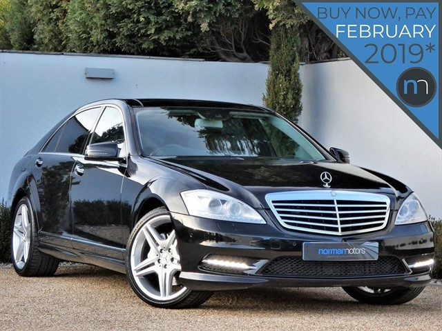 used Mercedes S350 BLUETEC L AMG SPORT EDITION