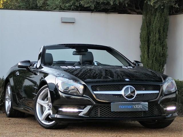 used Mercedes SL350 BlueEFFICIENCY 7G-Tronic