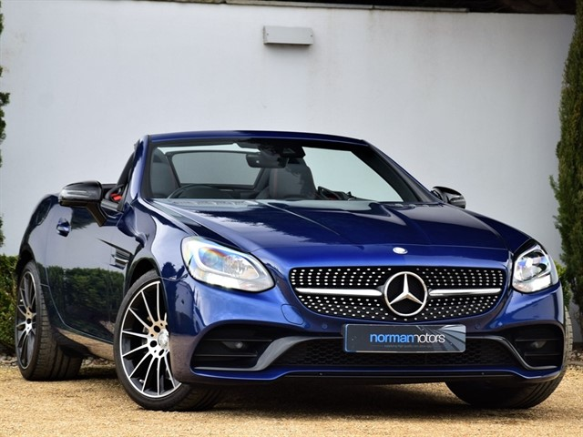 used Mercedes SLC250d AMG LINE