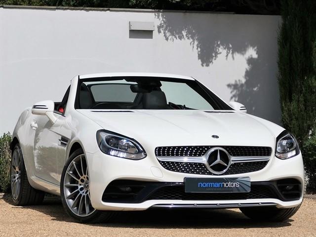 used Mercedes SLC250d AMG LINE