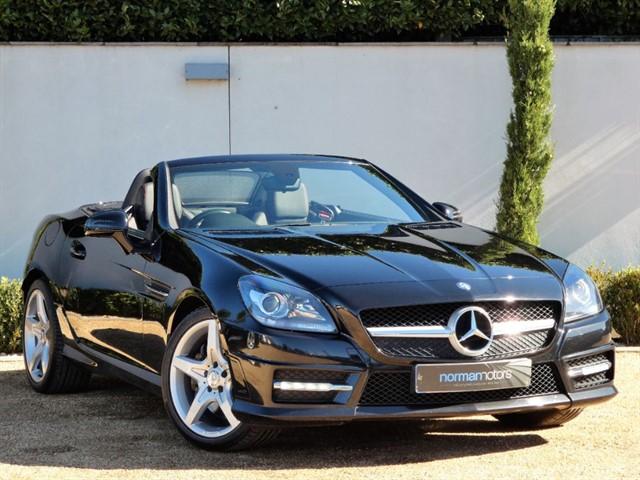 used Mercedes SLK SLK250 CDI BLUEEFFICIENCY AMG SPORT