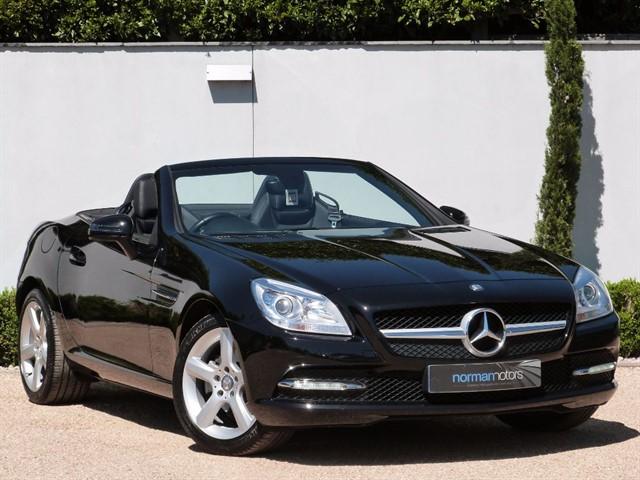 used Mercedes SLK SLK200 BLUEEFFICIENCY