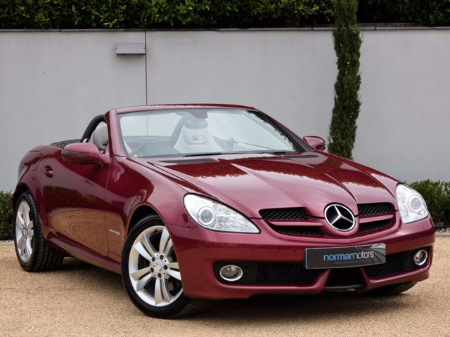 used Mercedes SLK SLK200 KOMPRESSOR