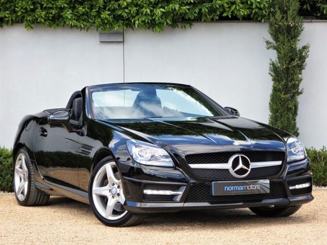 used Mercedes SLK 200 BLUEEFFICIENCY AMG SPORT