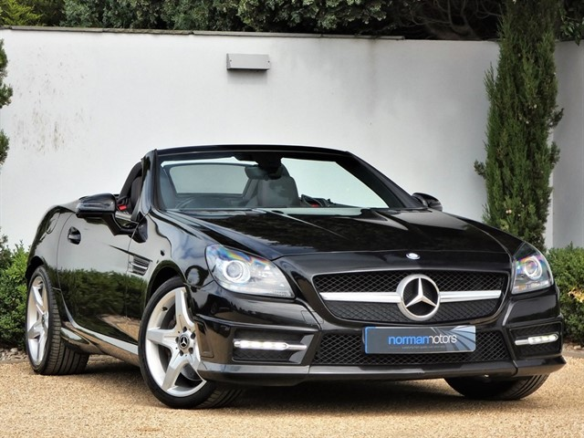 used Mercedes SLK250 CDI BLUEEFFICIENCY AMG SPORT