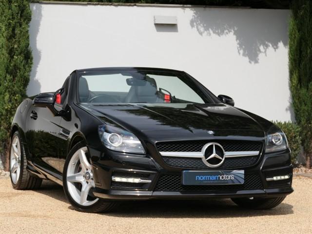 used Mercedes SLK250d AMG Sport 7G-Tronic Plus