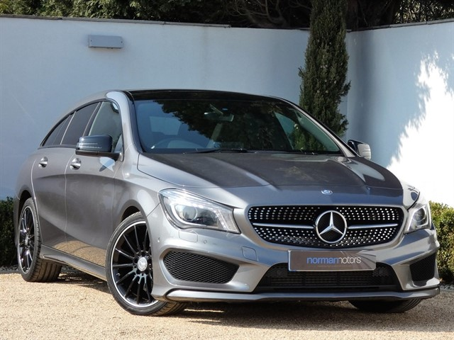 used Mercedes CLA180 AMG SPORT Shooting Brake