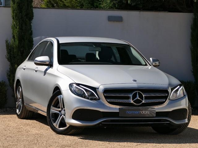 used Mercedes E220 d SE G-Tronic+