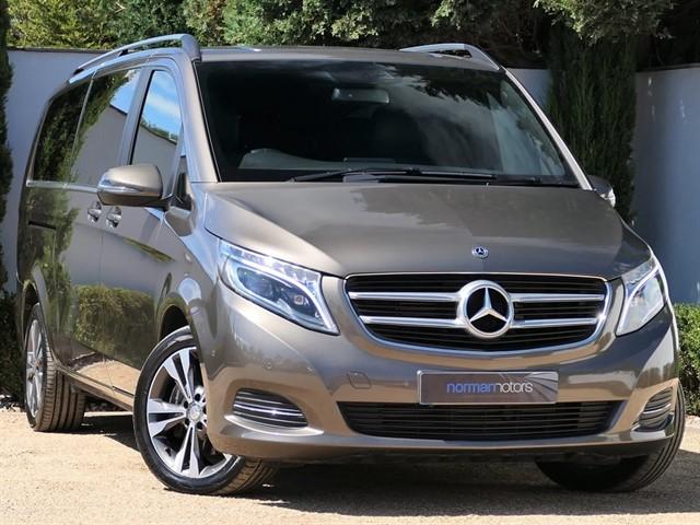 used Mercedes V220 BLUETEC SPORT