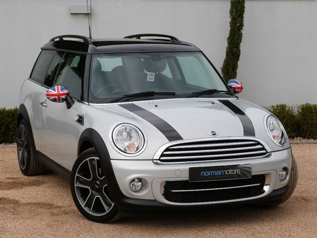 used MINI Clubman COOPER D