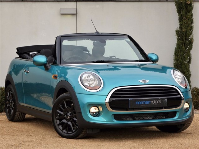 used MINI Convertible COOPER