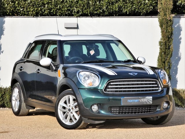 used MINI Countryman COOPER D ALL4