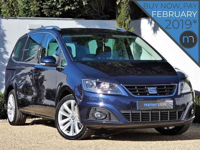 used SEAT Alhambra TDI SE LUX