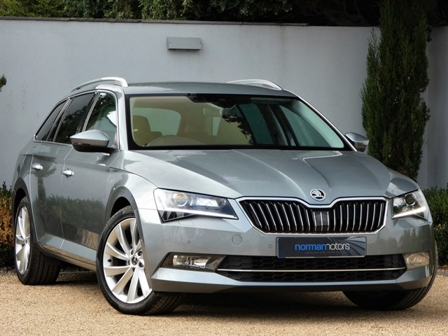used Skoda Superb LAURIN AND KLEMENT TDI DSG