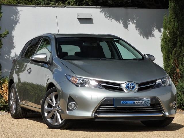 used Toyota Auris VVT-I EXCEL