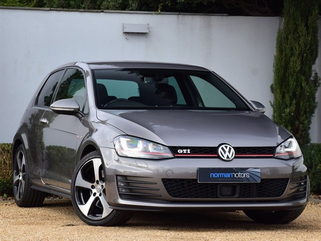used VW Golf GTI LAUNCH