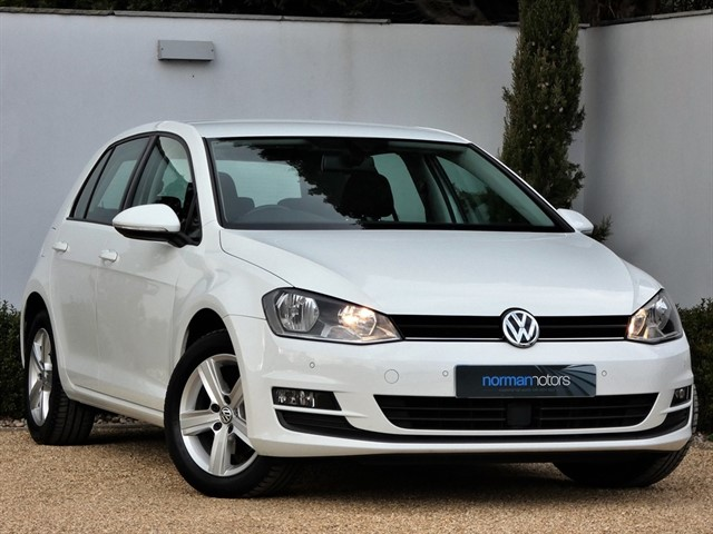 used VW Golf MATCH TSI BLUEMOTION TECHNOLOGY DSG